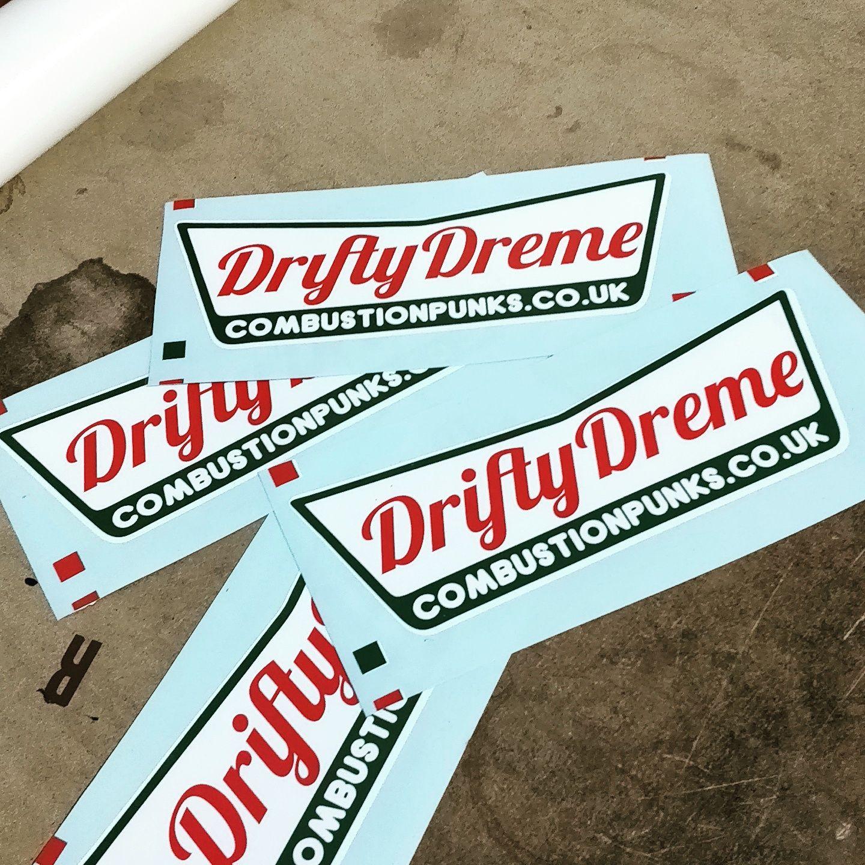Drifty Dreme Sticker